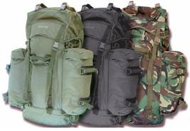 Army Rucksack Military Combat Style Hiking Backpack Camo Olive Bergen Da... - $104.56