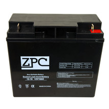 ZPC 12V 18Ah Sealed Lead Acid Battery for APC UPS Computer Back Up Power - $32.03