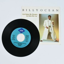 Billy Ocean, Get Out Of My Dreams, Get Into My Car, 45 RPM Vinyl Record - $9.85