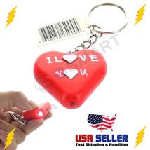 Electric Shock Heart KeyChain Shocking Prank Fl... - $7.51