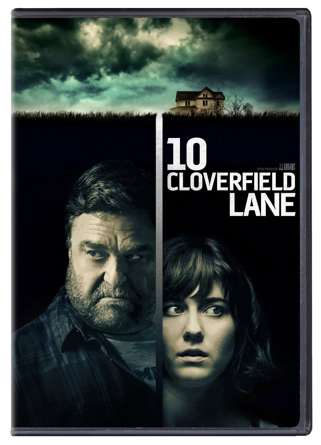 10 Cloverfield Lane (DVD, 2016) New