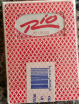 The RIO Las Vegas Playing Cards, Pink, Used, Sealed - $5.95