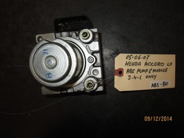 05 06 07 Honda Accord Lx Abs Pump & Module 2.4 L Only *See Item* - $49.50