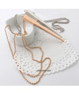 Punk Style Rivet Pendant Necklace(Gold) - $6.99