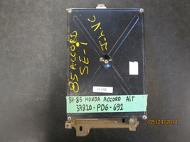 84 85  Honda Accord    A/T  Ecu  37820 Pd6 692 - $67.31