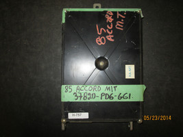 85 Honda Accord  M/T   Ecu # 37820 Pd6 661 - $58.90