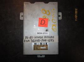 86 87 Honda Accord Ecu/Ecm #36048 Ph4 683 / 36048 Ph4683 Box 3711 - $75.73