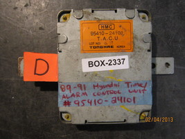 89 90 91 HYUNDAI TIME/ALARM CONTROL UNIT #95410-24101 *See item descriot... - $29.45