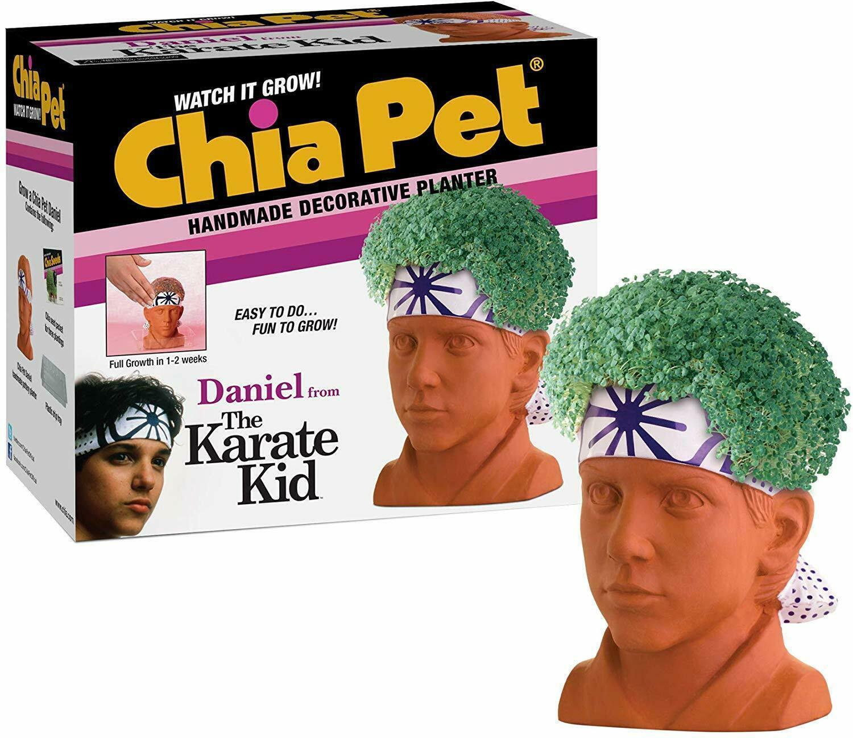 Chia Pet Planter Karate Kid Daniel LaRusso - $19.99