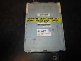 90 93 Lexus Ls400 Abs Control Module #89541 50031 *See Item* - $15.14