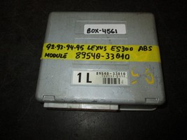 92-95 LEXUS ES300 ABS MODULE #89540-33010 *See item description* - $12.62