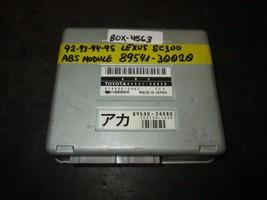 92-95 LEXUS SC300 ABS MODULE #89541-33020 *See item description* - $14.31