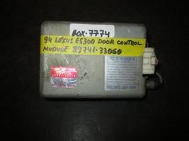 94 Lexus Es300 Door Control Module #89741 33060 *See Item Description* - $12.62