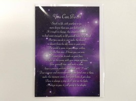 You Can Do It  - Spiritual & Inspirational Luxury Quality Greetings Card... - $2.99