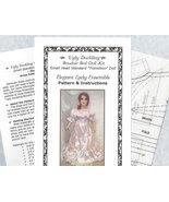 Boudoir Bed Doll Dress Pattern Size Small Standard Transition W-K-S - $12.79