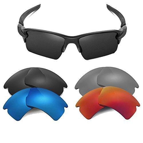New SEEK Replacement Lenses Oakley FLAK 2.0 XL - Hi Intensity Pink