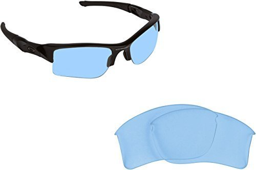 Primary image for New SEEK Replacement Lenses Oakley FLAK JACKET XLJ Asian Fit - Hi Intensity Blue