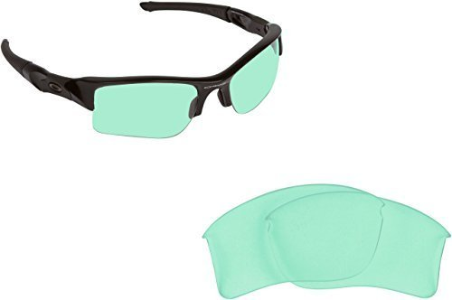 New SEEK Replacement Lenses Oakley FLAK JACKET XLJ - Hi Intensity Green