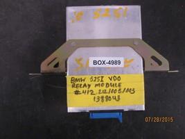BMW 525i VDO RELAY MODULE #412.212/005/003 & 1388043 *see item description* - $50.48