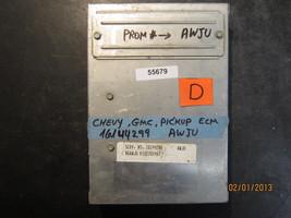 Chevy Gmc Pickup Ecm #16144299 Prom #Awju *See Item Description* - $50.48