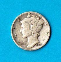 1943 D Mercury Dime Silver - $6.00