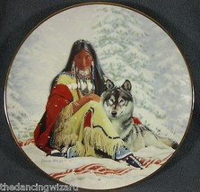 Snow Princess David Wright Princesses Of The Plains Collector Plate - $17.05