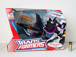 Transformers ANIMATED Decepticon SKYWARP Hasbro 100% CHERRY MISB!! - $29.99