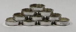 NEBRASKA    SILVER PROOF  US STATE QUARTER HANDMADE COIN RING  SIZE 4 -12 - €21,17 EUR