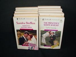 Lot of 10 Silhouette Romance Paperback Books Pb - $9.85