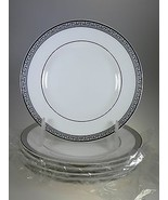 Royal Worcester Corinth Platinum Bread & Butter Plates Set of 6 Made in ... - $45.49