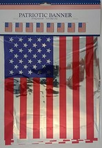 PATRIOTIC FLAG BANNERS (8 Flags12) - $2.96
