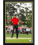 Tiger Woods Masters Champion Facsimile Signature Golf Ball - Framed Canvas - $390.00