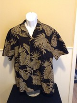 Royal Creations XL Mens Hawaiian Casual Button Shirt Short Sleeve Floral... - $16.82