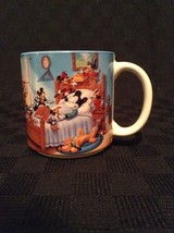 Disney Throughout The Years Mickey Mouse Ceramic Coffee Cup Mug Cartoon ... - £10.19 GBP