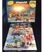 New Playmobil Santa's Workshop 5494 Advent Calender 101 Pieces Building Set Toy - $39.26