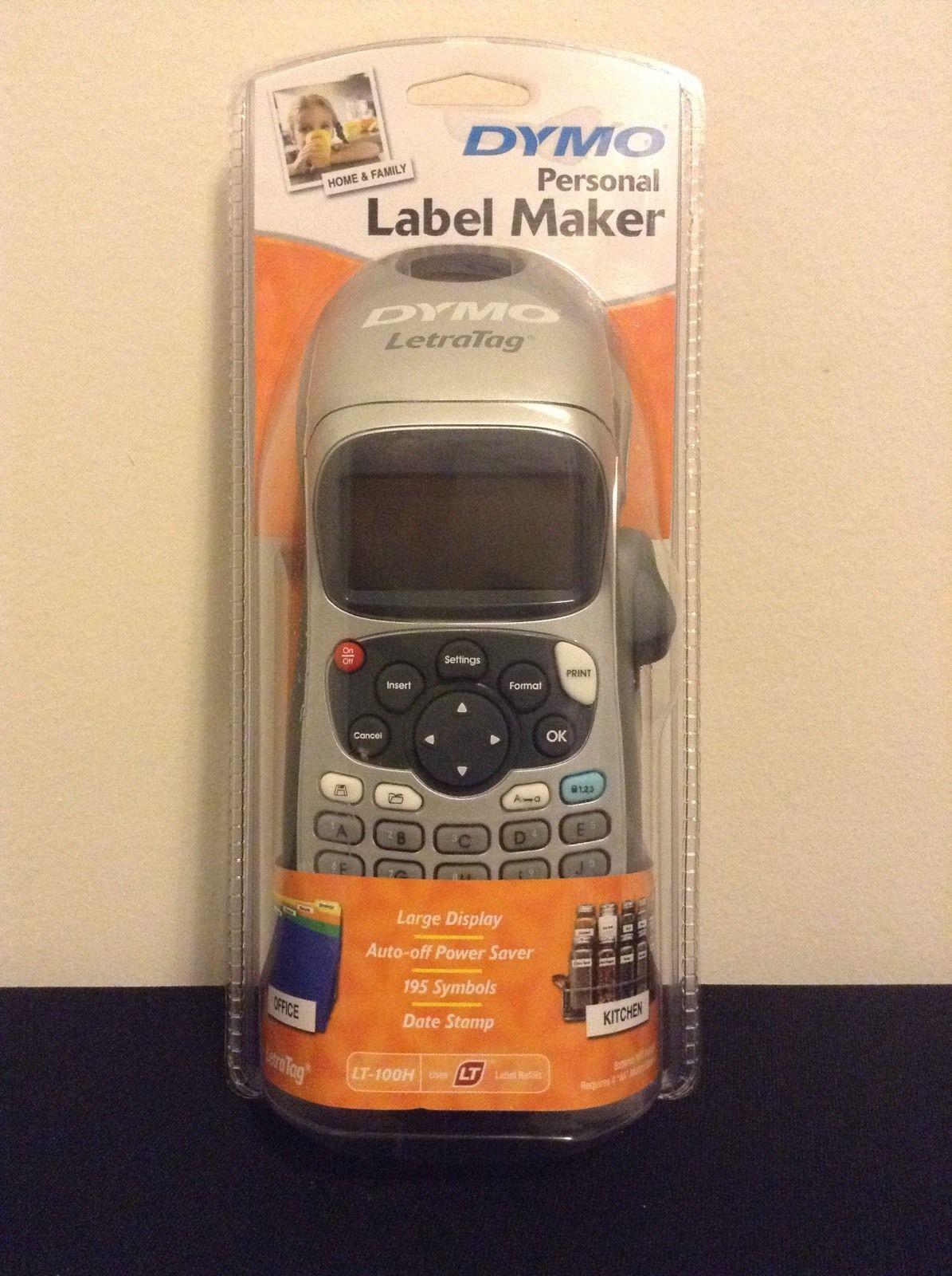 Dymo Letratag Label Maker Lt 100h 3 Listings
