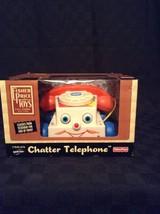 NIB 2005 Fisher Price Preschool Child Pull Toy Chatter Telephone Call Ri... - $23.36