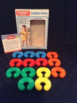 Vintage 1979 #23 Toddler Baby 14 Piece Kiddie Links Building Toy Connect - $14.01