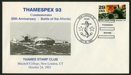 Battle of the Atlantic 50th Anniv, New London CT [1] **ANY 4=FREE SHIPPI... - $1.00