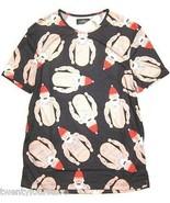 NWT $35 Topman by Topshop Gangster Santa Graphic Print T Shirt sz XXS - $17.80
