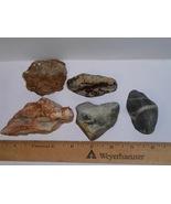5 Unique Rocks--100% All Natural--Fantastic Find! - $6.99