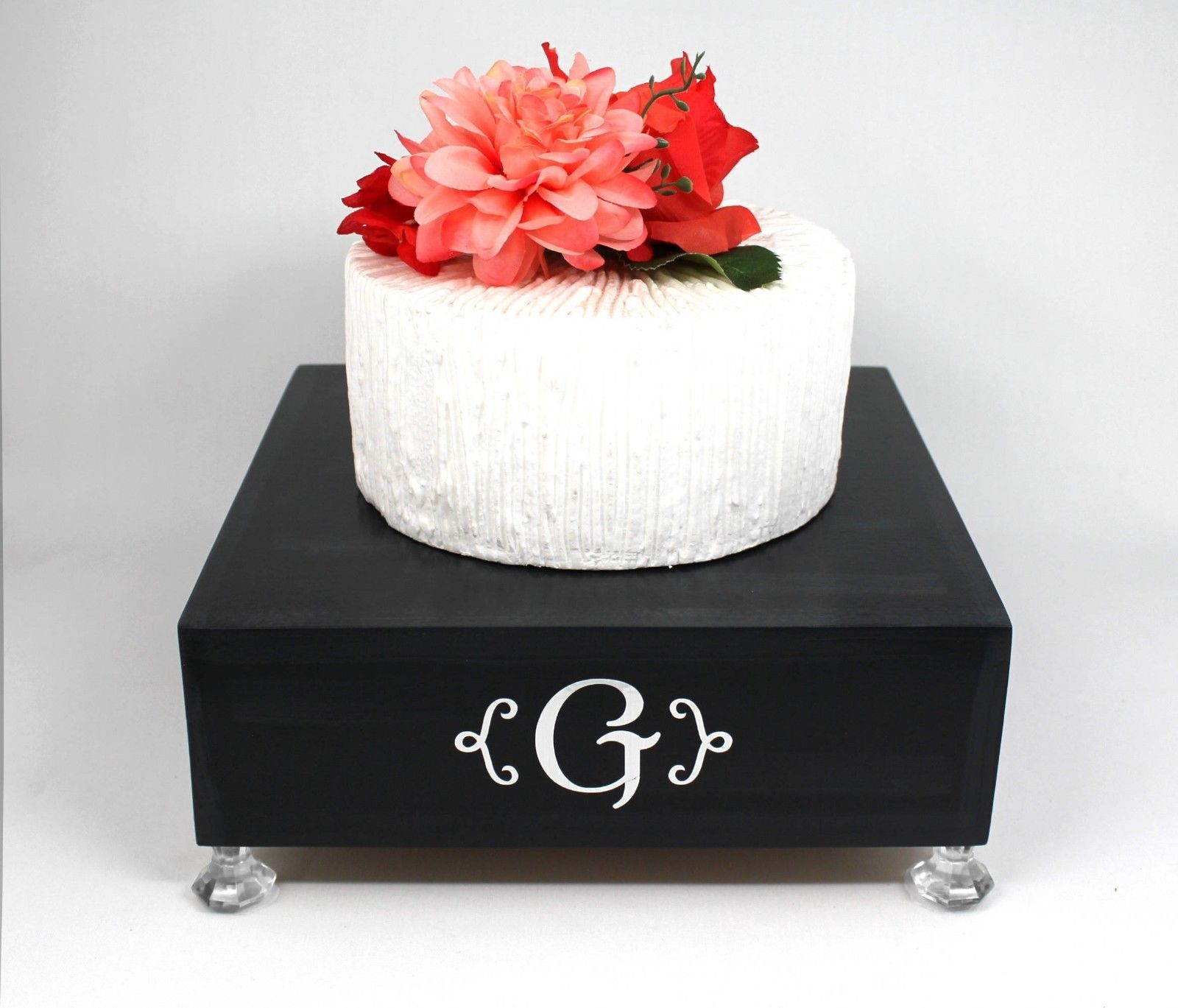 Black Cake Stand Box, Black Silver Cake and 12 similar items