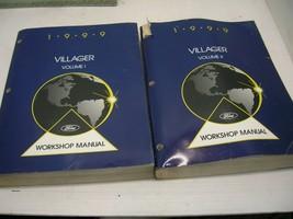 1999 Ford Villager Workshop Repair Manual Vol 1+2 - $39.59