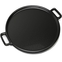 14 Inch Cast Iron Pizza Pan which Makes Amazing Golden Crust Pizza - $1.215,35 MXN