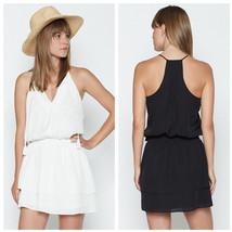 Joie Jossa Silk Dress, 2016 $358, Black, White, XS, S, M, L - $159.00