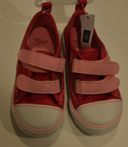 Baby Gap GirlsVelcro Sneaker Shoes Pink  SIZE-8 or 10 NWT - $14.39
