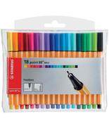 Stabilo Point 88 Mini Fineliner Pigment Liner Assorted Colours - Wallet ... - $14.77