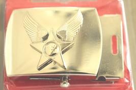 Usaf Us Air Force General Officer Ranks Polished Silver Hap Arnold Belt Buckle R - $29.69