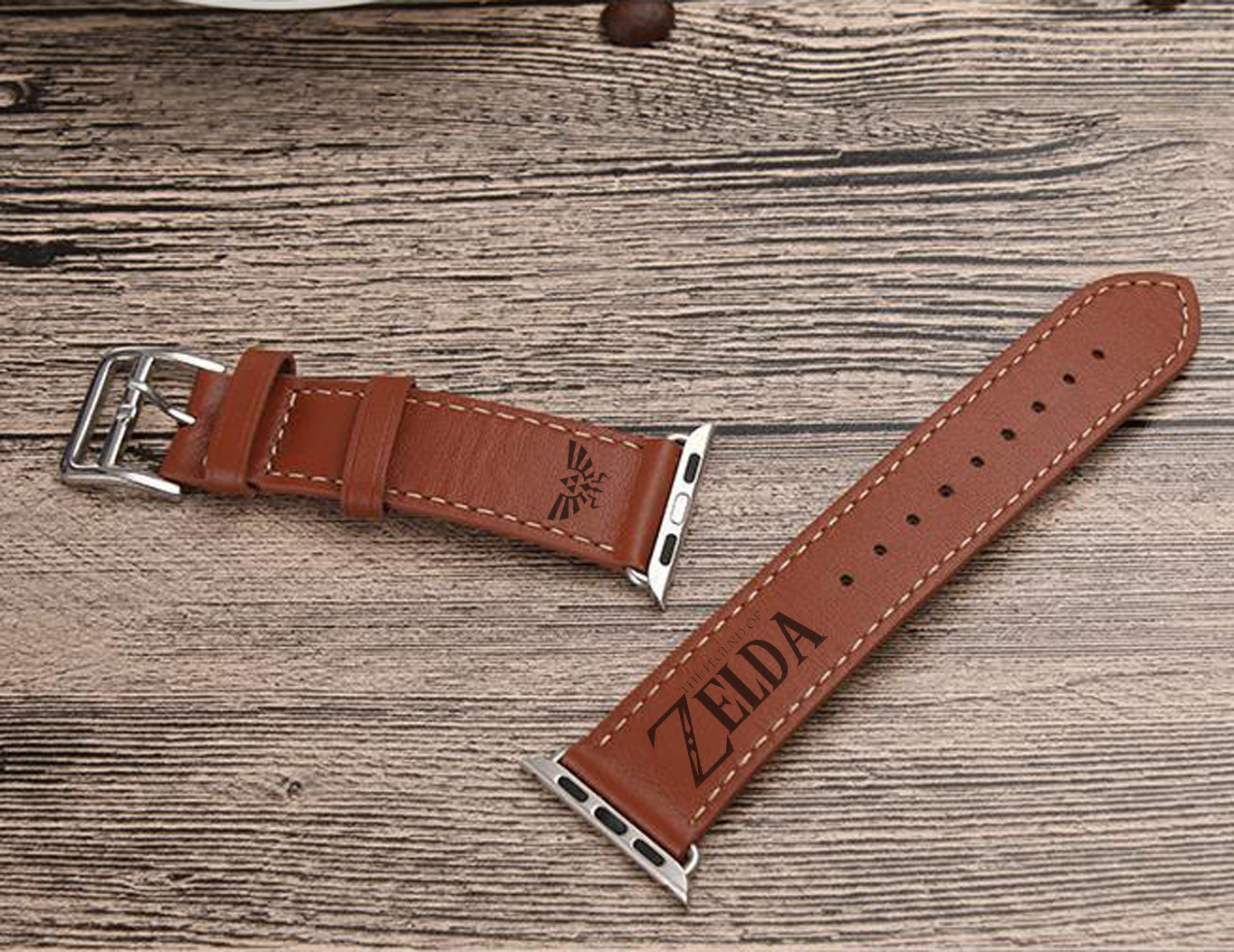 The Legend of Zelda Apple Watch Leather Watch Band Strap