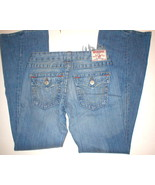 New TRUE RELIGION BRAND JEANS JOEY 29 DESTROYED COOL WOMEN'S Ripped  - $29.99
